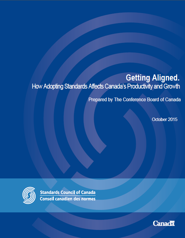 Getting Aligned: How Adopting Standards Affects Canada's Productivity and Growth