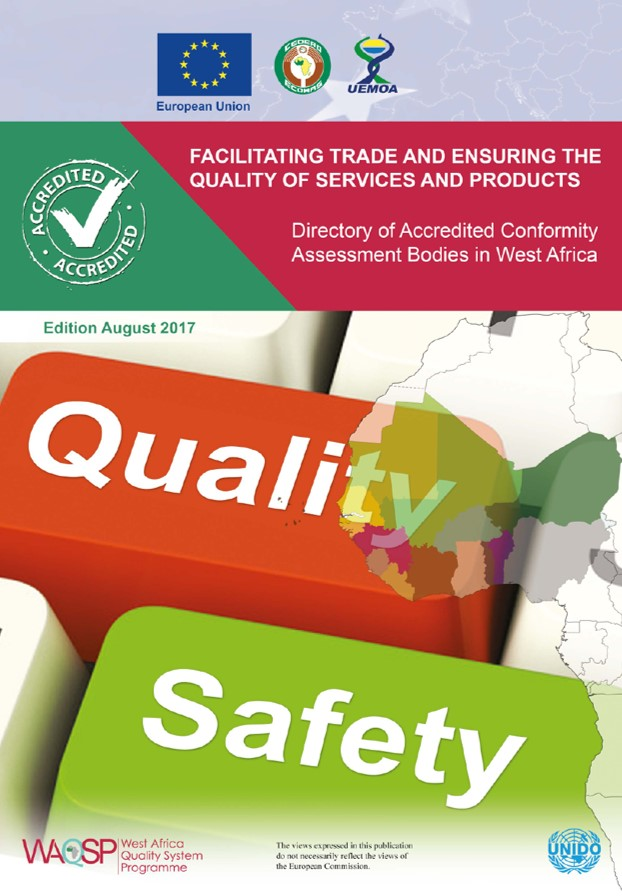 Directory of accredited Conformity Assessment Bodies in West Africa (August 2017)