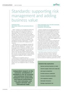 Accreditation reduces the need for regulatory audits and the associated costs